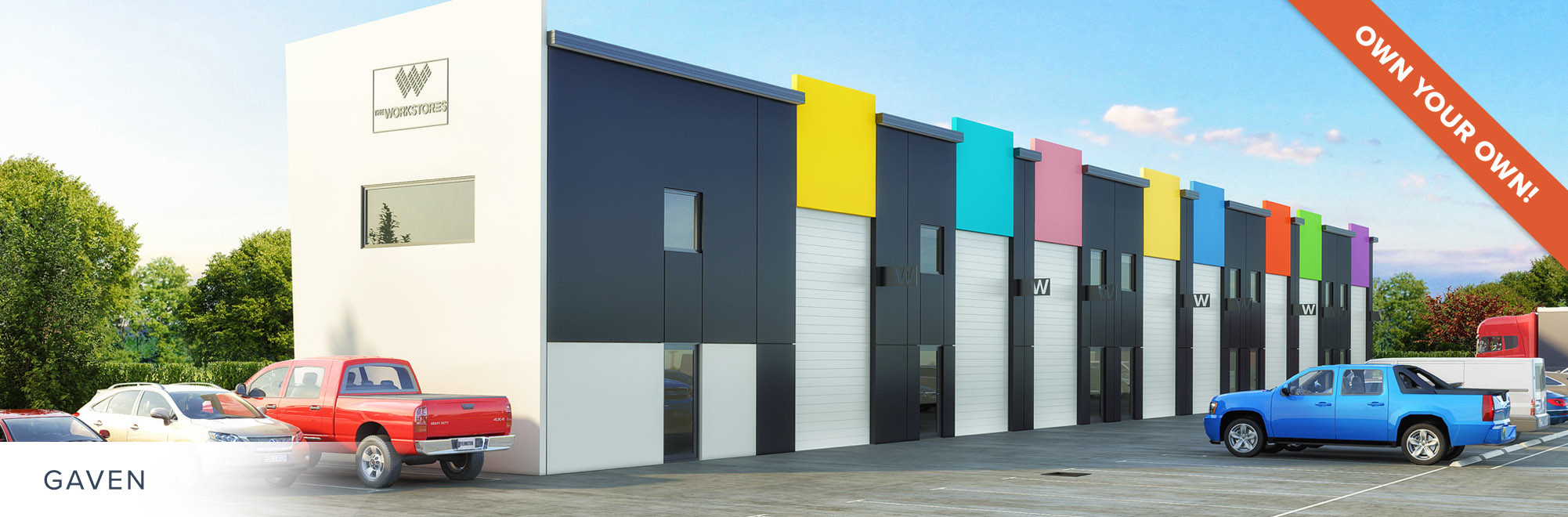 Premium Storage Units for Sale - The Workstores - Gaven, Gold Coast, QLD