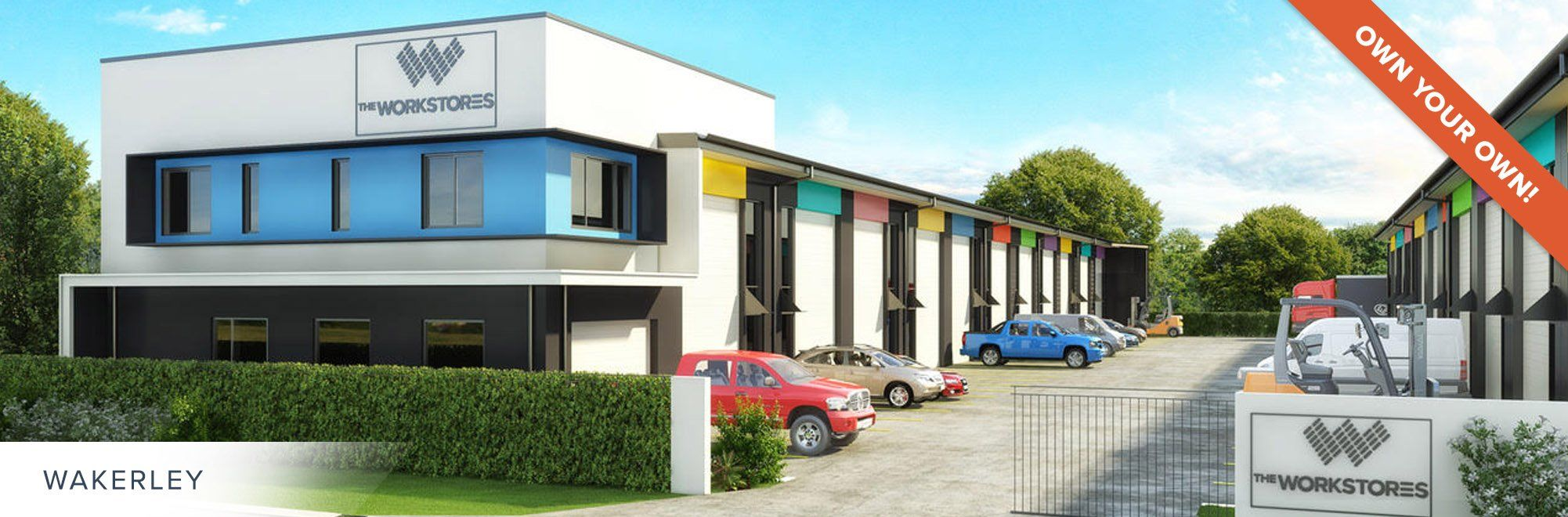 Premium Storage Units for Sale - The Workstores - Wakerley, Brisbane, QLD