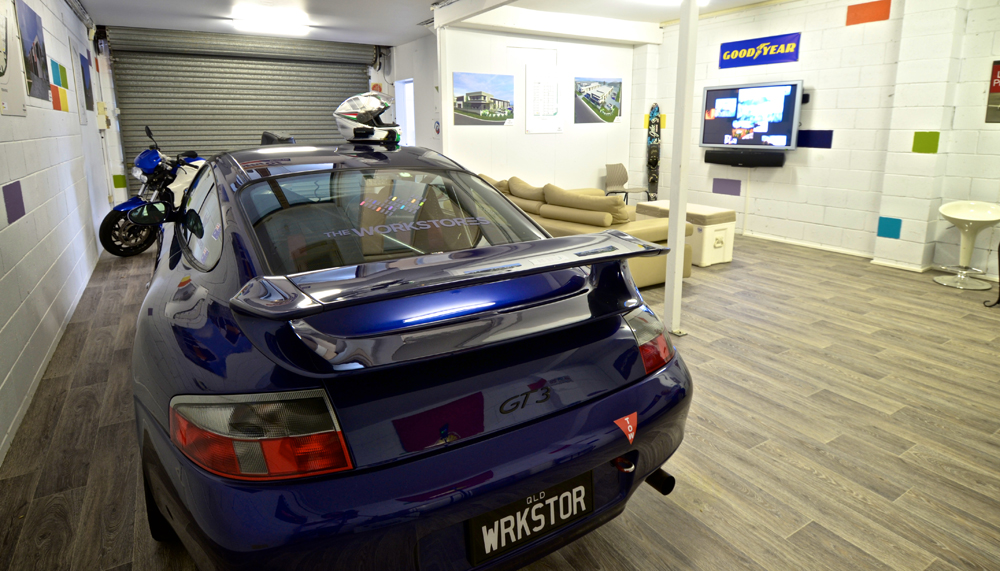 The ultimate man cave storage - Luxury Car storage