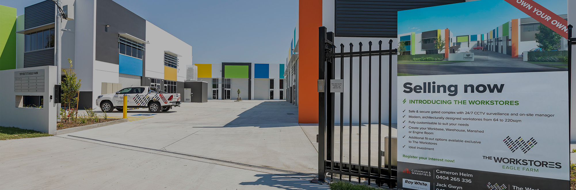 The Workstores Eagle Farm - Premium Storage Units For Sale