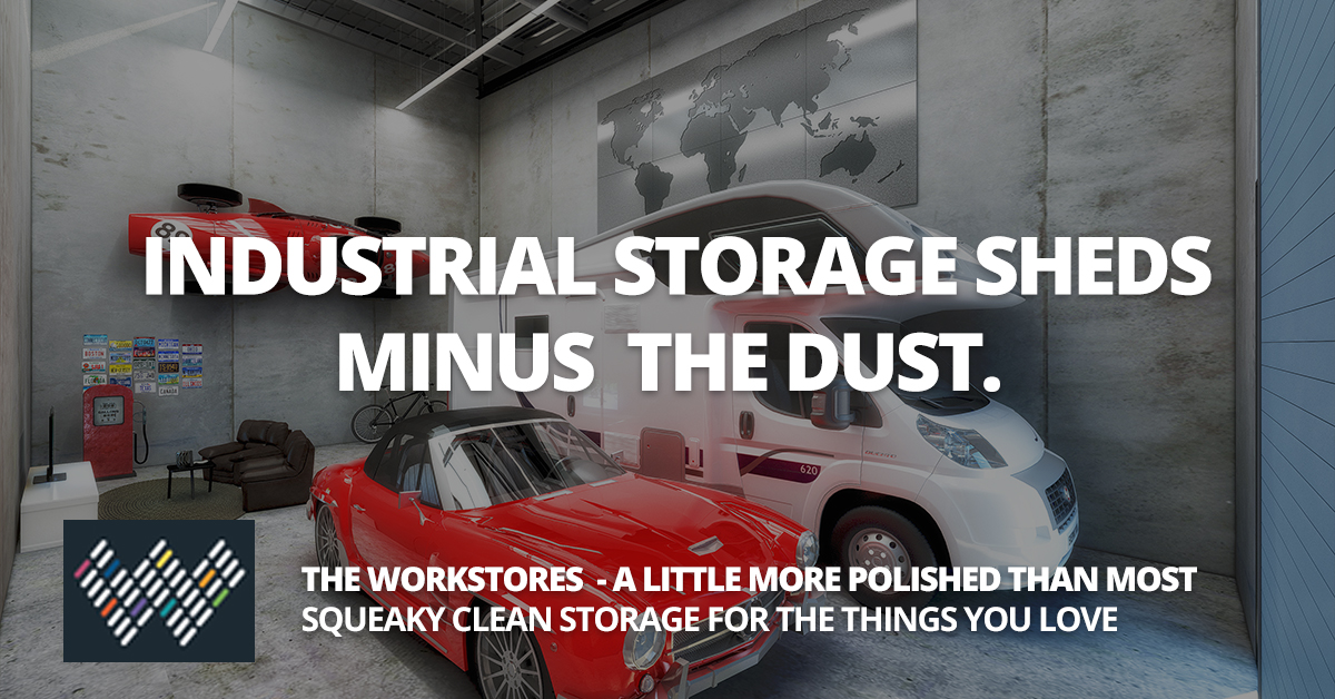 Industrial Storage Sheds For Sale & Rent - Wakerley, Brisbane