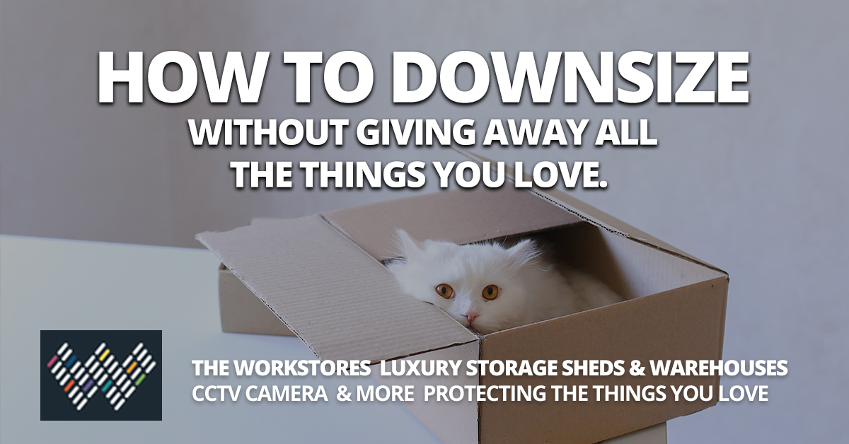 Luxury Storage Units for Downsizers - The Workstores Storage Sheds
