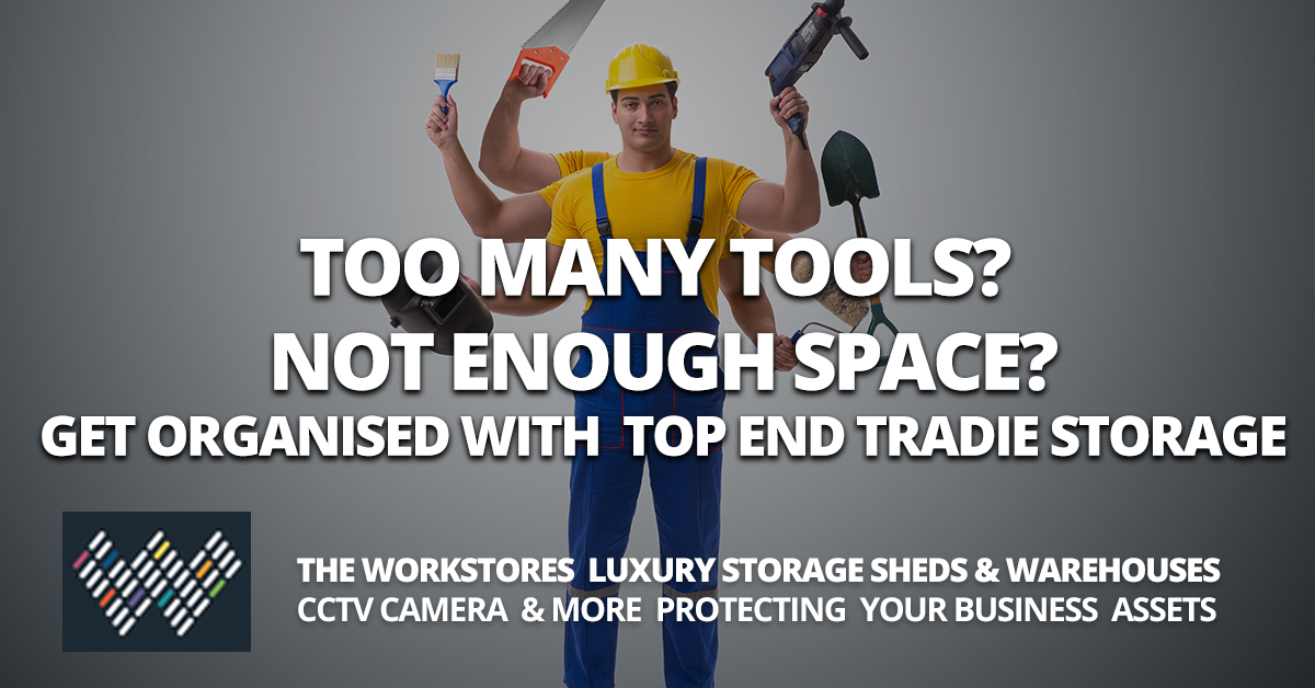 Trade Storage Solutions - The Workstores Storage Sheds