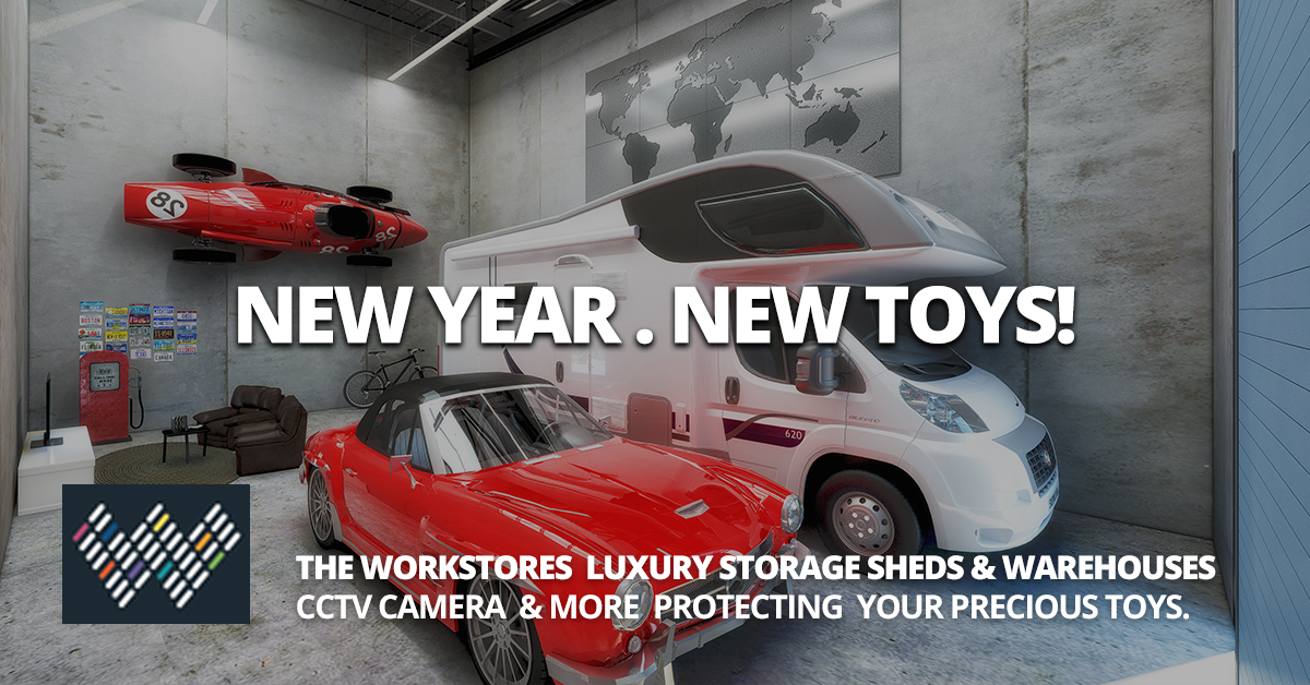Workstores Classic Car & Luxury Vehicle Storage Sheds