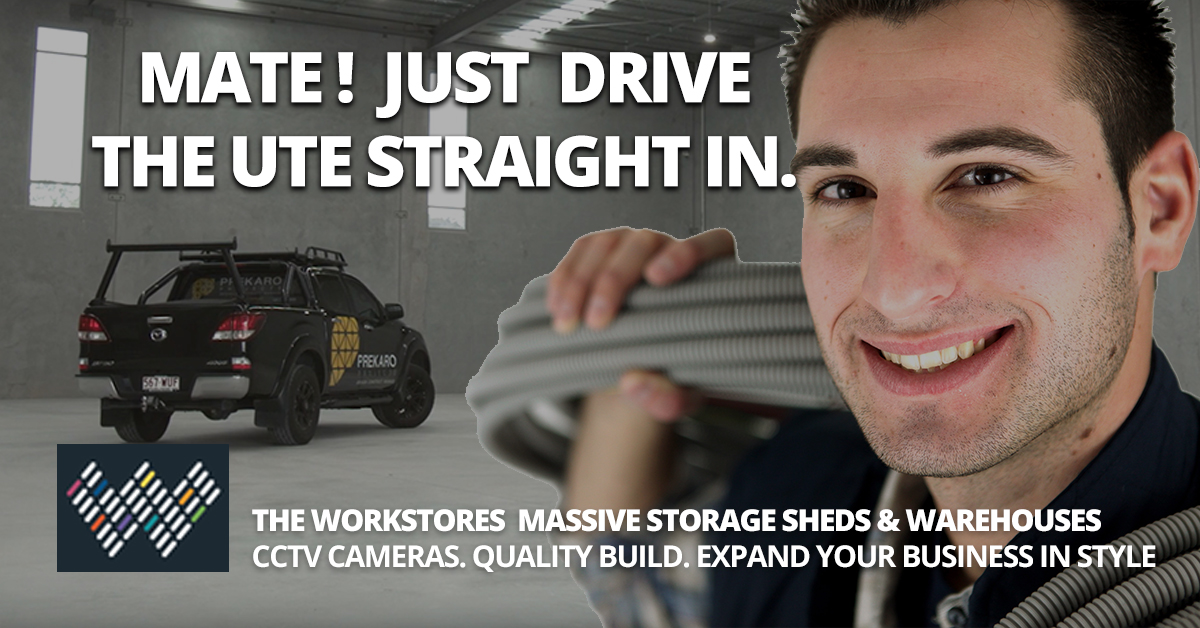 Tradie Storage Sheds - For Office and Material Storage